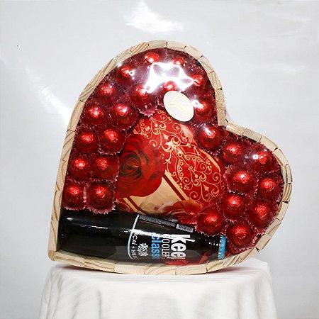Coração de chocolate GG