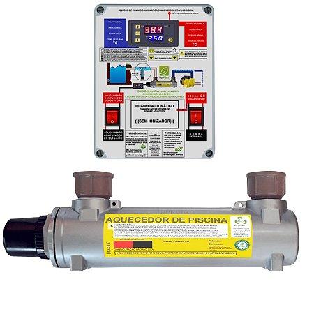 Aquecedor de Piscinas Hidrohot Automático 80m³ até 80.000Lts