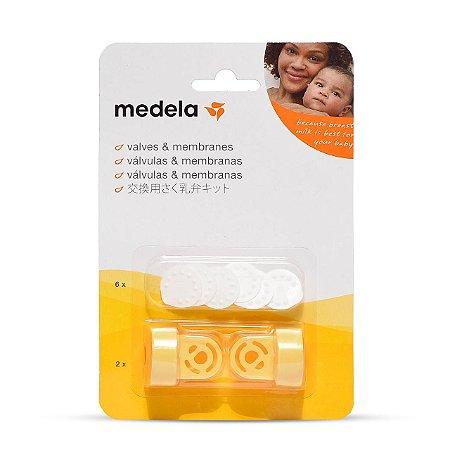 Kit Medela Com 2 Válvulas 6 Membranas