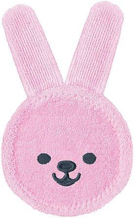 MAM Oral Care Rabbit - Luva de cuidado oral Rosa
