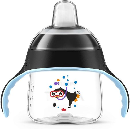 Philips Avent Copo Pinguim 200ml Azul +6