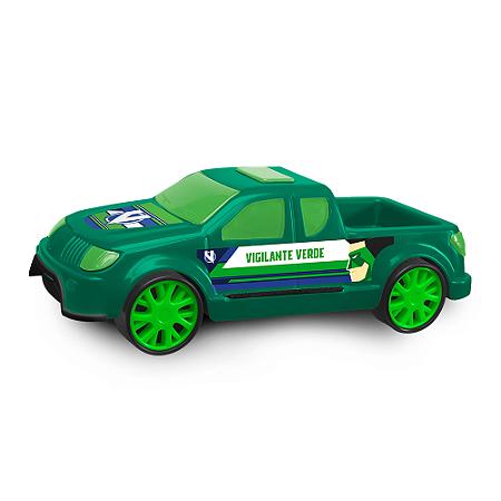 Carrinho Pickup Vigilante Verde