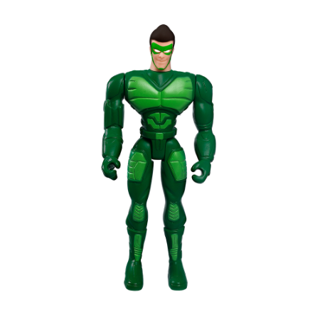 Boneco Articulado Pequeno Vigilante Verde