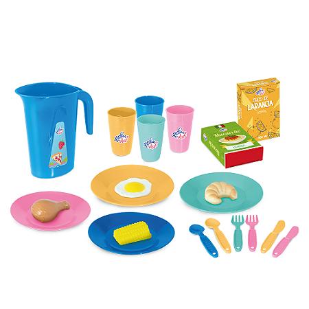 Kit Cozinha Infantil Kitchen Alive (27 Peças)
