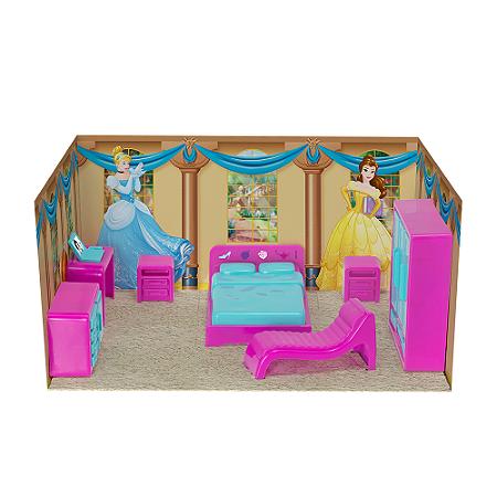 Casinha Boneca Mini Quarto Princesas Disney