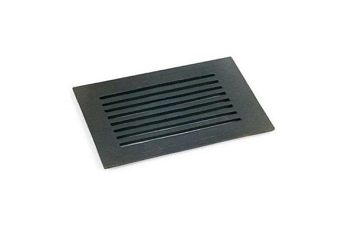 Grelha para Fogão a Lenha N° 1em Ferro Fundido - 17,5 x 26,5 cm