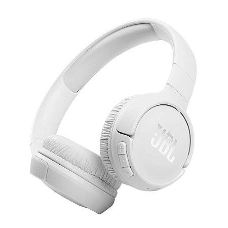Fone de Ouvido JBL 510BT Bluetooth Pure Bass JBLT510BTWHT Branco - JBL