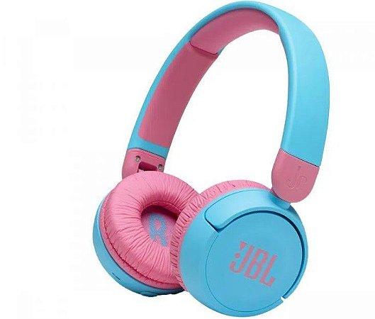 Headphone Infantil JBL JR310 Bluetooth com Microfone JBLJR310BTBLU Azul - JBL