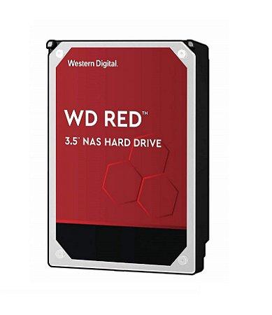 HD Interno NAS WD RED 8TB SATA6 até 7200RPM 256MB 3,5 WD80EFAX-68KNBN0 - Western Digital