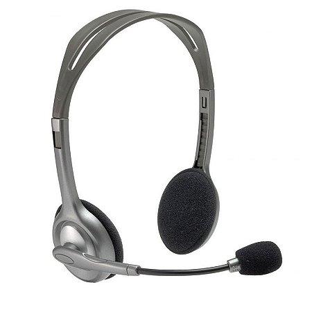 Headset PC Logitech H110 Estéreo P2 - Logitech