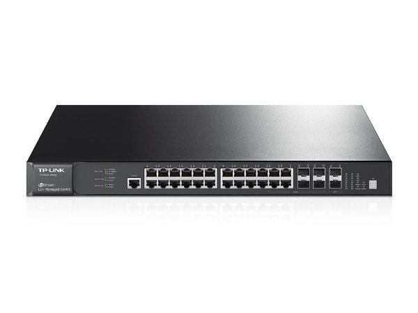 Switch TP-Link T2700G-28TQ Gigabit Gerenciável L2+ Empilhável de 28 Portas Jetstream - TP-Link