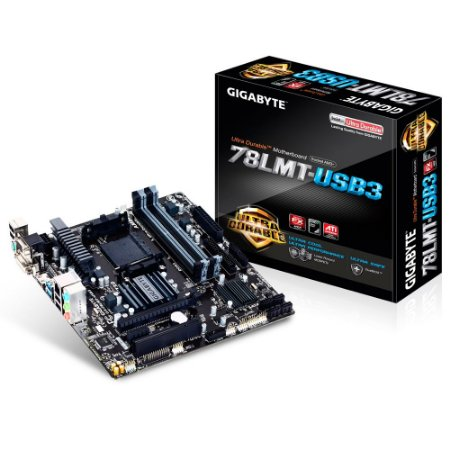 Placa-Mãe Gigabyte  AMD AM3+ mATX GA-78LMT-USB3, DDR3, HDMI, VGA, USB 3.0, RAID, IDE - Gigabyte