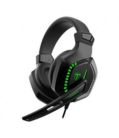 Headset Gamer T-Dagger Eiger Drivers 50 mm Usb Led Stereo T-RGH208 - T-Dagger