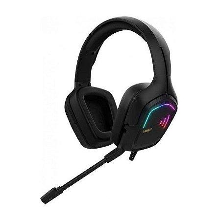 Headset Gamer Gamdias Hebe E2 Rgb Usb Preto - Gamdias