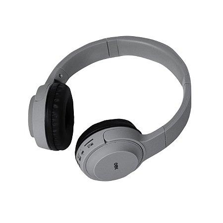 Headset Oex Pop Bluetooth Sem Fio Usb HS315 Cinza - Oex