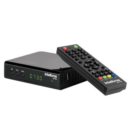 Conversor Digital de TV com Gravador CD 730 Preto - Intelbras