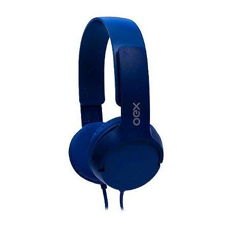 Headphone Infantil Oex Kids Teen Com Microfone HP303 Azul - Oex