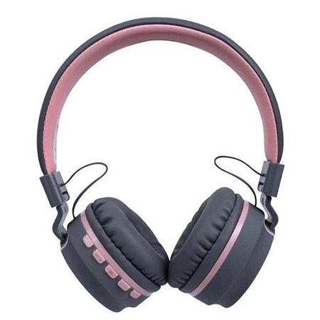 Headset Oex Bluetooth Candy HS310 Rosa Claro - Oex