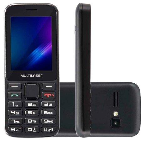 Celular Multilaser Zapp 32Gb 512Mb Bluetooth P9098 Preto - Multilaser