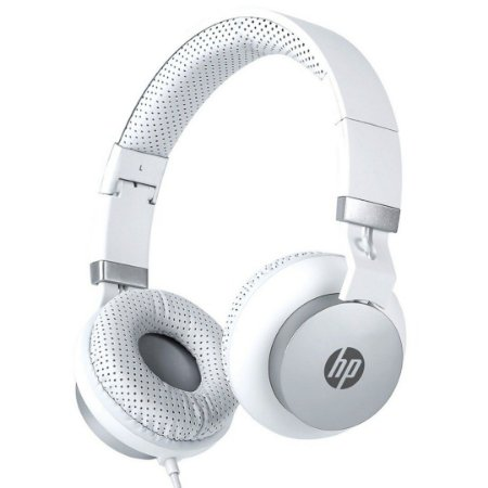 Headset Dobrável Com Microfone 50mm DHH-1205 Branco - HP