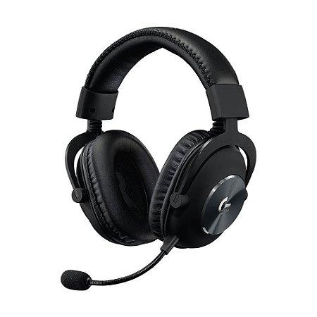 Headset Gamer G Pro X Com Blue Voice Drivers Pro-G de 50mm 981-000817 - Logitech