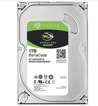 HD Seagate BarraCuda 1TB 35 SATA ST1000DM010 - Seagate