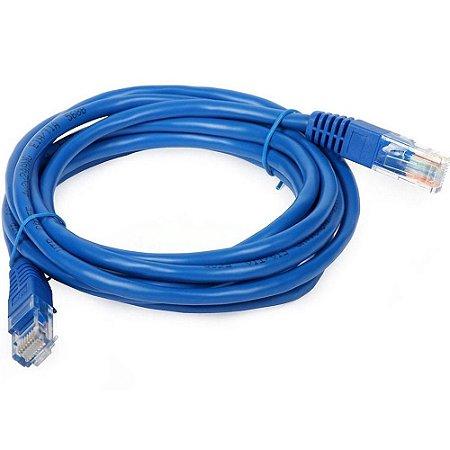 Cabo Rede CAT5e 5 Metros PC-ETHU50BL Azul - Plus Cable