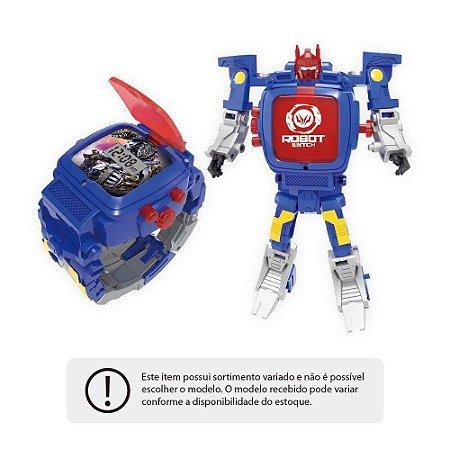Robot Watch Relógio e Robô 2 em 1 Sortido BR498 - Multikids