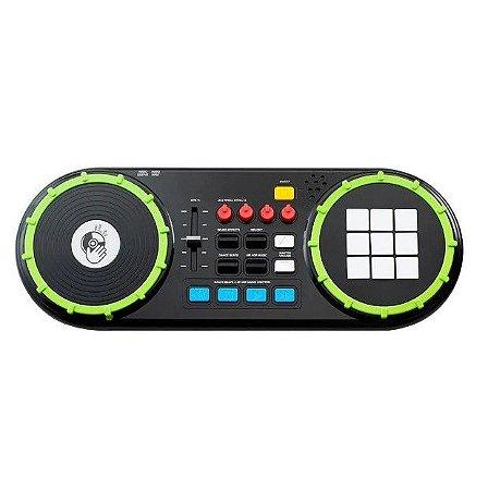 Dj Mixer Com Sons Painel De Led BR1175 - Multikids
