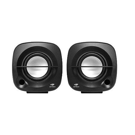 Caixa de Som Speaker 2.0 SP-303BK Preto - C3Tech