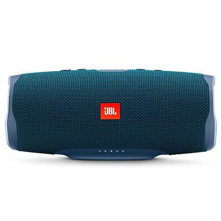 Caixa de Som Charge 4 Bluetooth 20Hrs À Prova D´Água Azul - JBL