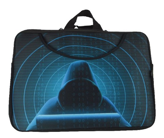 Case para Notebook Bolso Frontal 15.6″ Hacker - Reliza