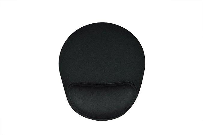 Mousepad Ergonômico Confort Full Black - Reliza