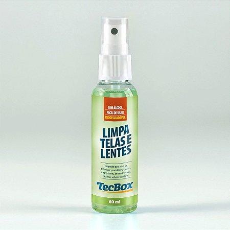 Limpa Telas e Lentes TecBox 60ml - Reliza