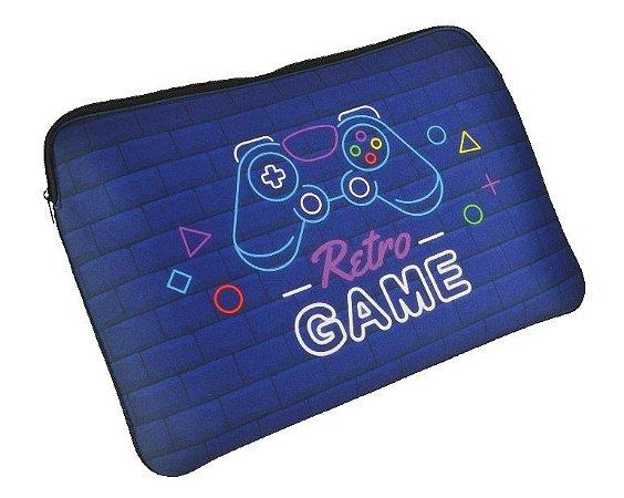 Case para Notebook Slim 15.6″ Retrogame - Reliza