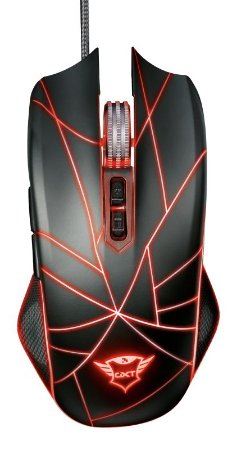 Mouse Gamer Ture Ambidestro 4000Dpi Função Macro GXT 160 Rgb 22332 - Trust