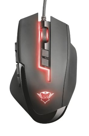 Mouse Gamer Sikanda 5000Dpi 13 Botões Função Macro GXT 164 Rgb - 21726 - Trust