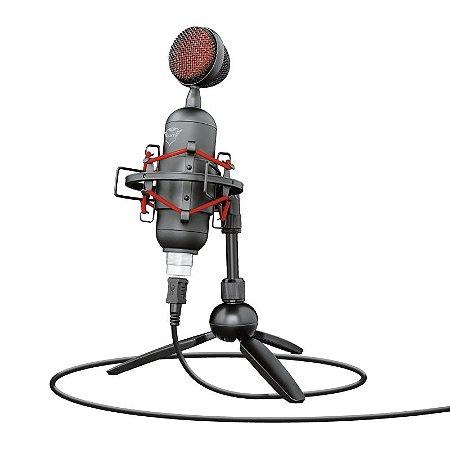 Microfone Gamer Trust GXT 244 Buzz Streaming Conector Usb - T23466 - Trust
