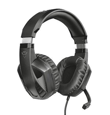 Headset Gamer Celaz 50mm GXT 412 Preto - 23373 - Trust