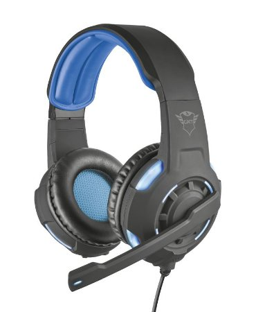 Headset Gamer Radius 40mm Surround GXT 350 Led - 22052 - Trust