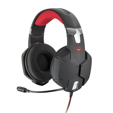 Headset Gamer Carus 50mm Black GXT 322 - 20408 - Trust