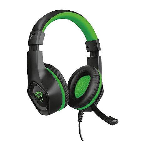 Headset Gamer Rana 40mm Verde GXT 404G - 23346 - Trust
