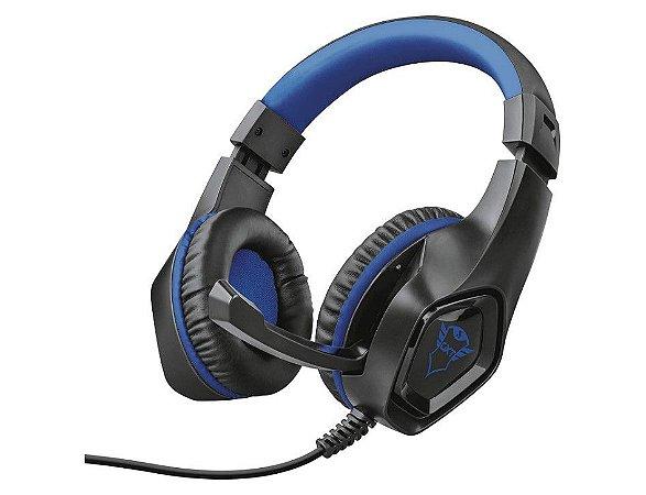 Headset Gamer Rana 40mm Azul GXT 404B - 23309 - Trust