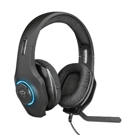 Headset Gamer Torus 50mm GXT 455 Rgb - 23138 - Trust