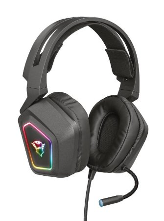 Headset Gamer Blizz 40mm Surround Usb GXT 450 Rgb - 23191 - Trust
