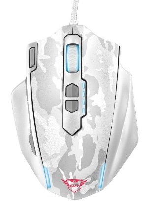 Mouse Gamer Caldor 4000Dpi Branco GXT 155W Rgb - 20852 - Trust