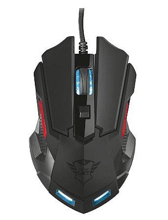 Mouse Gamer Orna 3200Dpi 8 botões Design Ambidestro GXT 148 - 21197 - Trust