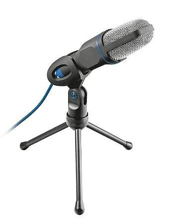 Microfone USB Mico Ajustável com Tripé e Cabo - 20378 - Trust