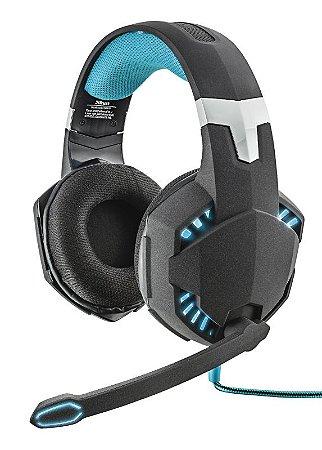 Headset Gamer Hawk Iluminado GXT 363 Usb 20407 - Trust