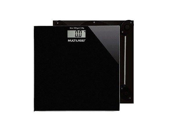 Balança Digital Multilaser Digi-Health HC022 Preto - Multilaser